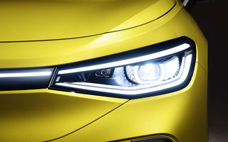 Imagini cu farurile și stopurile lui Volkswagen ID.4: SUV-ul electric va avea o autonomie maximă de 520 de kilometri