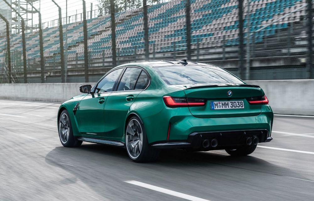 BMW a prezentat noile M3 și M4 Coupe: versiune de bază cu 480 CP și cutie manuală, și variantă Competition cu 510 CP și tracțiune integrală - Poza 126