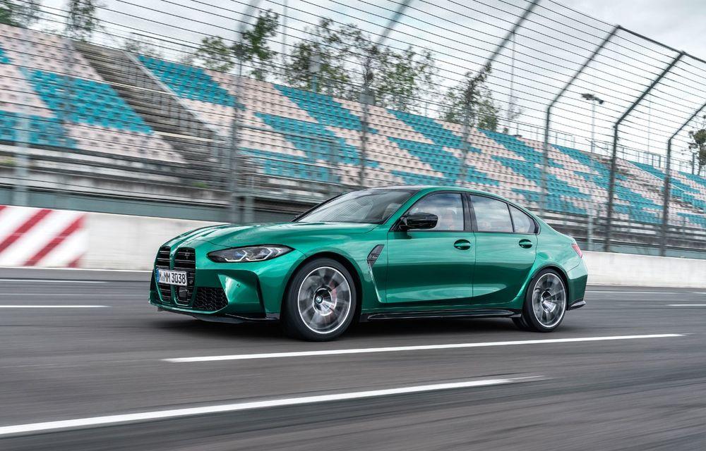 BMW a prezentat noile M3 și M4 Coupe: versiune de bază cu 480 CP și cutie manuală, și variantă Competition cu 510 CP și tracțiune integrală - Poza 116