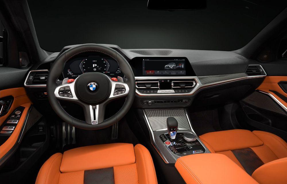 BMW a prezentat noile M3 și M4 Coupe: versiune de bază cu 480 CP și cutie manuală, și variantă Competition cu 510 CP și tracțiune integrală - Poza 177