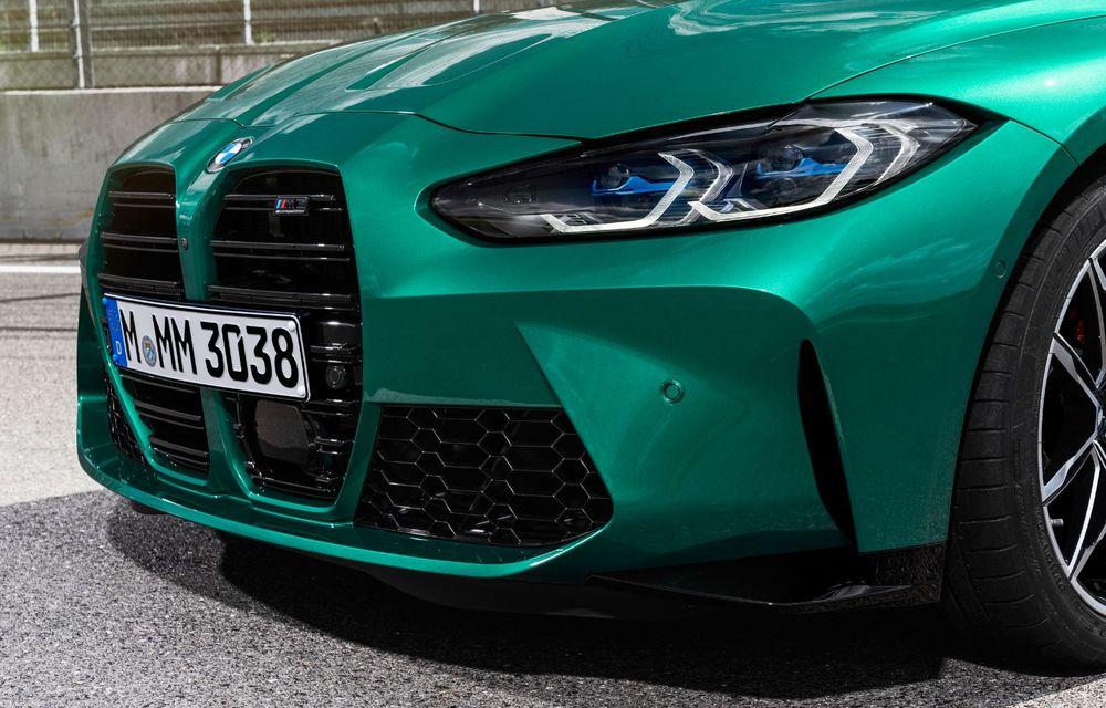 BMW a prezentat noile M3 și M4 Coupe: versiune de bază cu 480 CP și cutie manuală, și variantă Competition cu 510 CP și tracțiune integrală - Poza 145