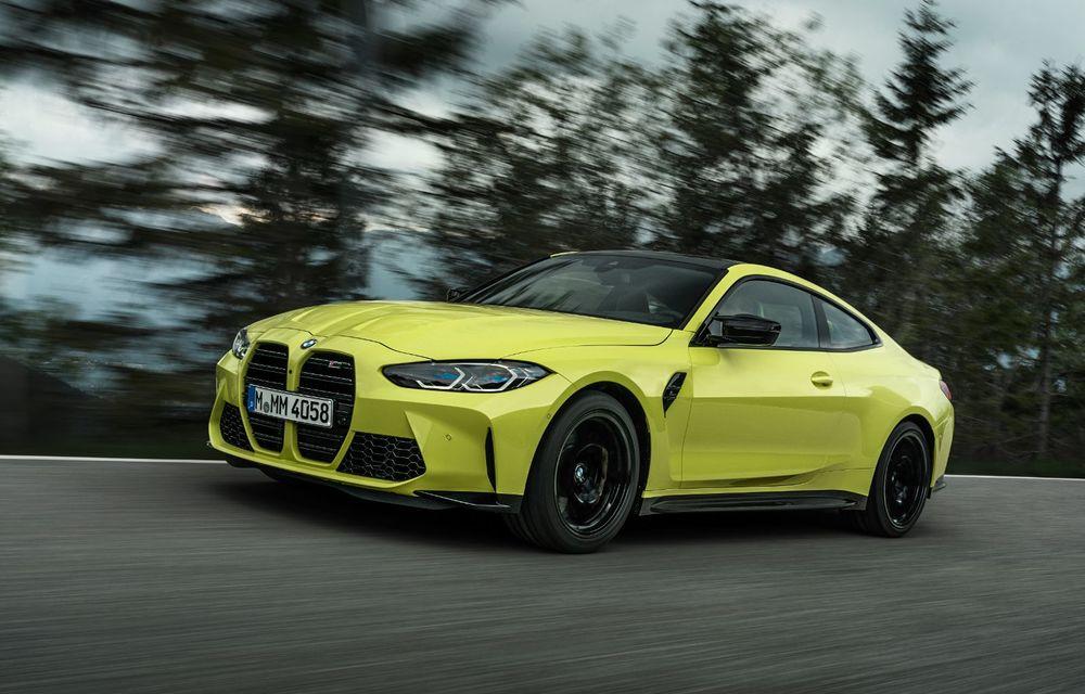 BMW a prezentat noile M3 și M4 Coupe: versiune de bază cu 480 CP și cutie manuală, și variantă Competition cu 510 CP și tracțiune integrală - Poza 28