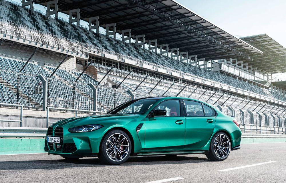 BMW a prezentat noile M3 și M4 Coupe: versiune de bază cu 480 CP și cutie manuală, și variantă Competition cu 510 CP și tracțiune integrală - Poza 136