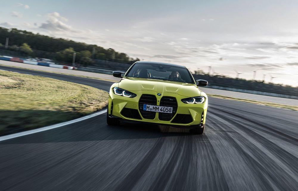 BMW a prezentat noile M3 și M4 Coupe: versiune de bază cu 480 CP și cutie manuală, și variantă Competition cu 510 CP și tracțiune integrală - Poza 65