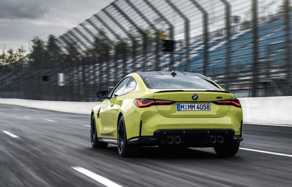 BMW a prezentat noile M3 și M4 Coupe: versiune de bază cu 480 CP și cutie manuală, și variantă Competition cu 510 CP și tracțiune integrală - Poza 70