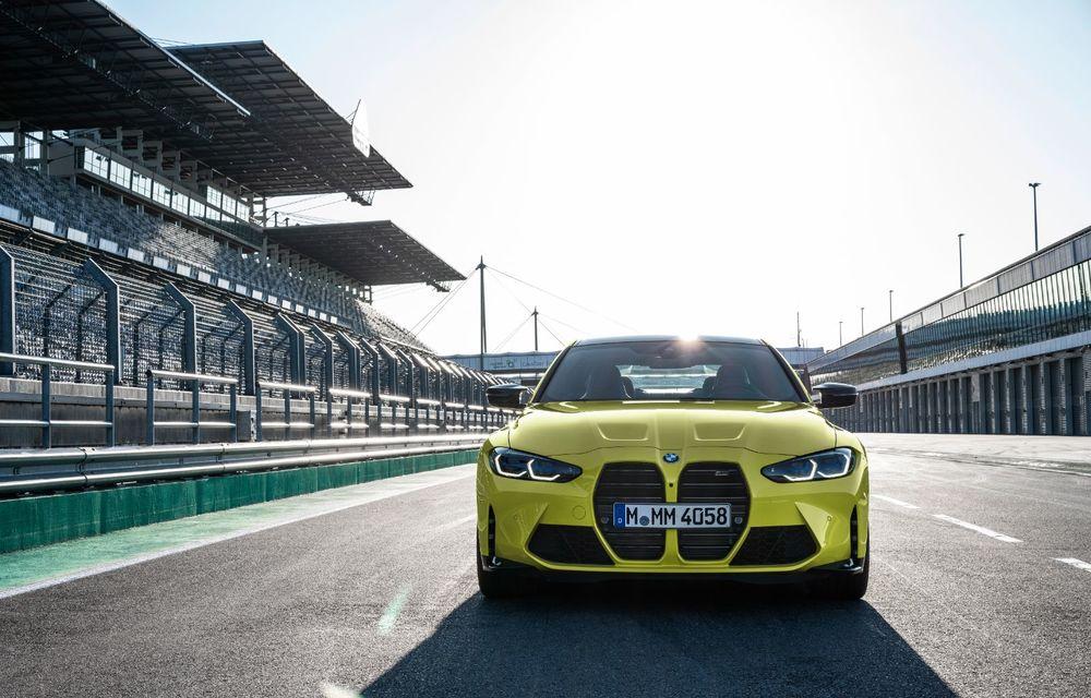 BMW a prezentat noile M3 și M4 Coupe: versiune de bază cu 480 CP și cutie manuală, și variantă Competition cu 510 CP și tracțiune integrală - Poza 74