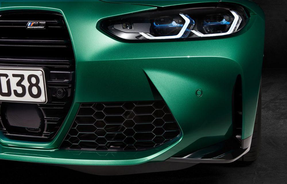 BMW a prezentat noile M3 și M4 Coupe: versiune de bază cu 480 CP și cutie manuală, și variantă Competition cu 510 CP și tracțiune integrală - Poza 166