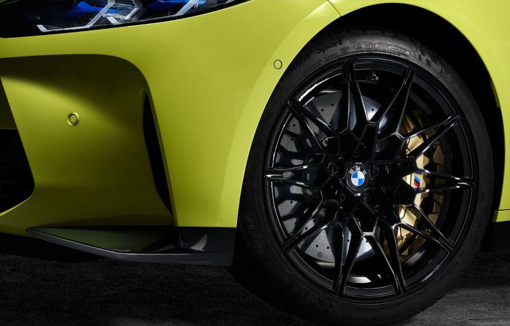 BMW a prezentat noile M3 și M4 Coupe: versiune de bază cu 480 CP și cutie manuală, și variantă Competition cu 510 CP și tracțiune integrală - Poza 179