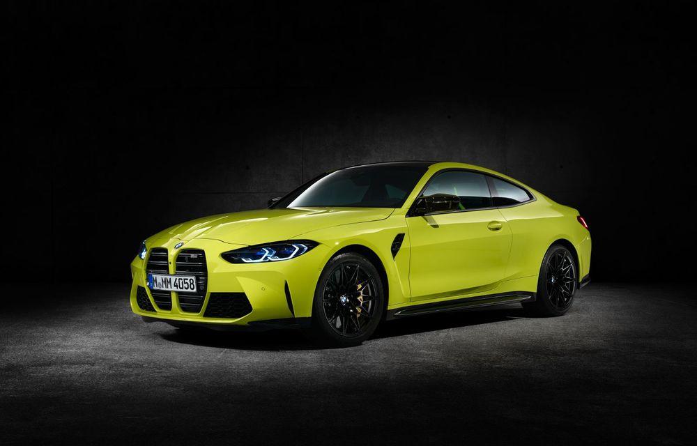 BMW a prezentat noile M3 și M4 Coupe: versiune de bază cu 480 CP și cutie manuală, și variantă Competition cu 510 CP și tracțiune integrală - Poza 181