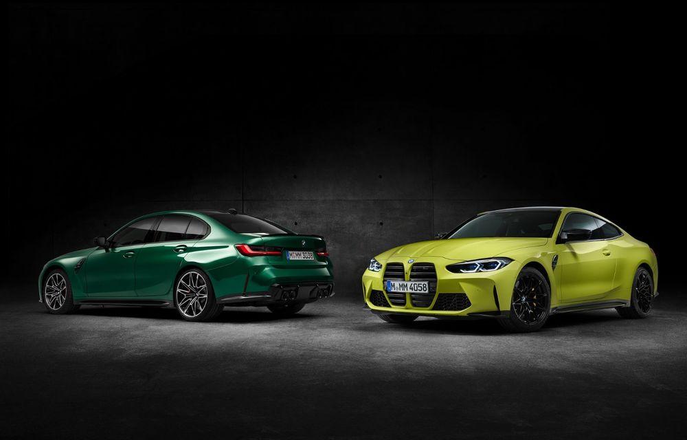 BMW a prezentat noile M3 și M4 Coupe: versiune de bază cu 480 CP și cutie manuală, și variantă Competition cu 510 CP și tracțiune integrală - Poza 157