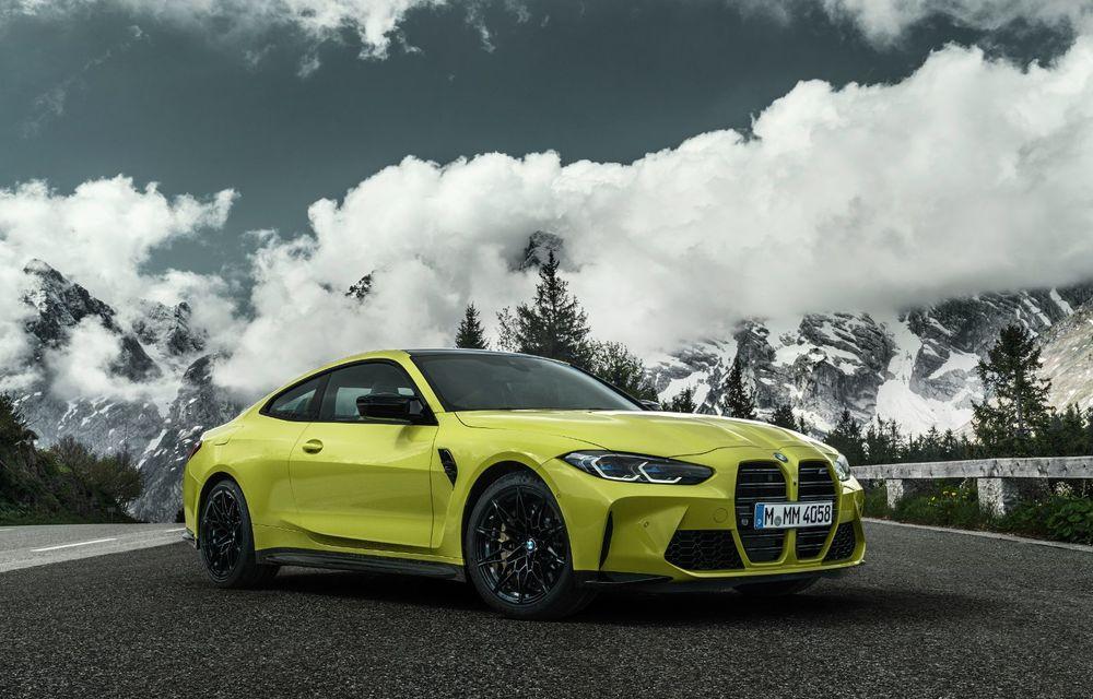 BMW a prezentat noile M3 și M4 Coupe: versiune de bază cu 480 CP și cutie manuală, și variantă Competition cu 510 CP și tracțiune integrală - Poza 43