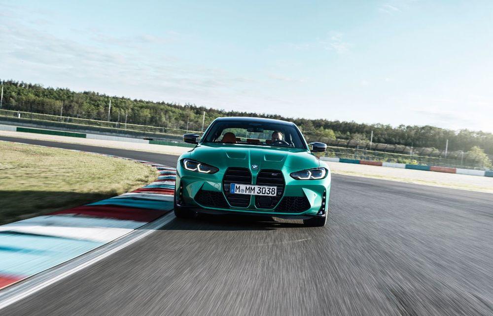 BMW a prezentat noile M3 și M4 Coupe: versiune de bază cu 480 CP și cutie manuală, și variantă Competition cu 510 CP și tracțiune integrală - Poza 118