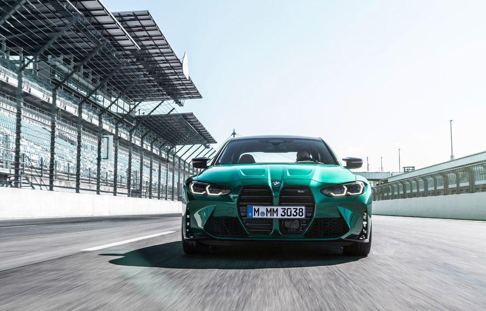 BMW a prezentat noile M3 și M4 Coupe: versiune de bază cu 480 CP și cutie manuală, și variantă Competition cu 510 CP și tracțiune integrală - Poza 114
