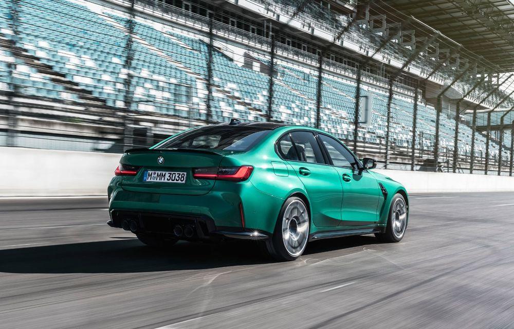 BMW a prezentat noile M3 și M4 Coupe: versiune de bază cu 480 CP și cutie manuală, și variantă Competition cu 510 CP și tracțiune integrală - Poza 120