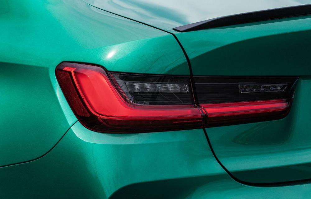BMW a prezentat noile M3 și M4 Coupe: versiune de bază cu 480 CP și cutie manuală, și variantă Competition cu 510 CP și tracțiune integrală - Poza 152