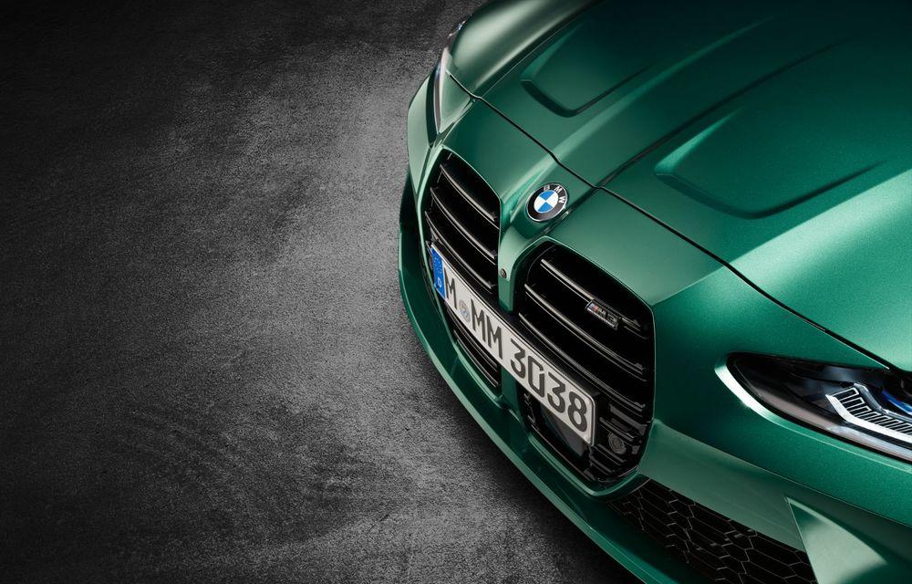 BMW a prezentat noile M3 și M4 Coupe: versiune de bază cu 480 CP și cutie manuală, și variantă Competition cu 510 CP și tracțiune integrală - Poza 165
