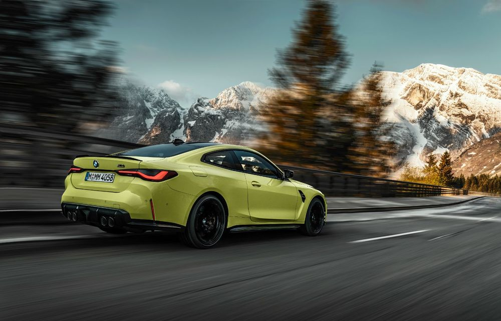 BMW a prezentat noile M3 și M4 Coupe: versiune de bază cu 480 CP și cutie manuală, și variantă Competition cu 510 CP și tracțiune integrală - Poza 35