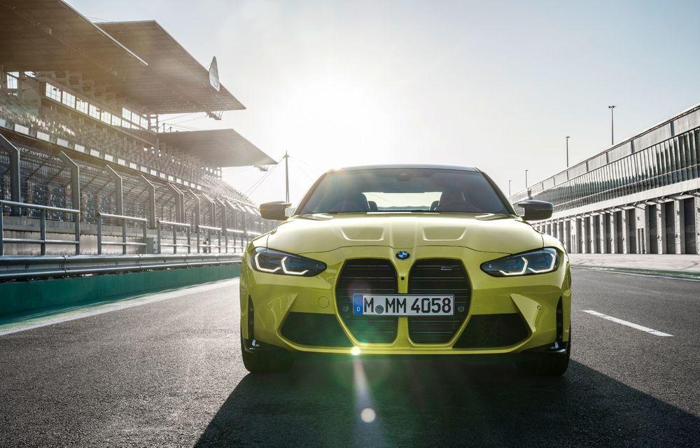 BMW a prezentat noile M3 și M4 Coupe: versiune de bază cu 480 CP și cutie manuală, și variantă Competition cu 510 CP și tracțiune integrală - Poza 73