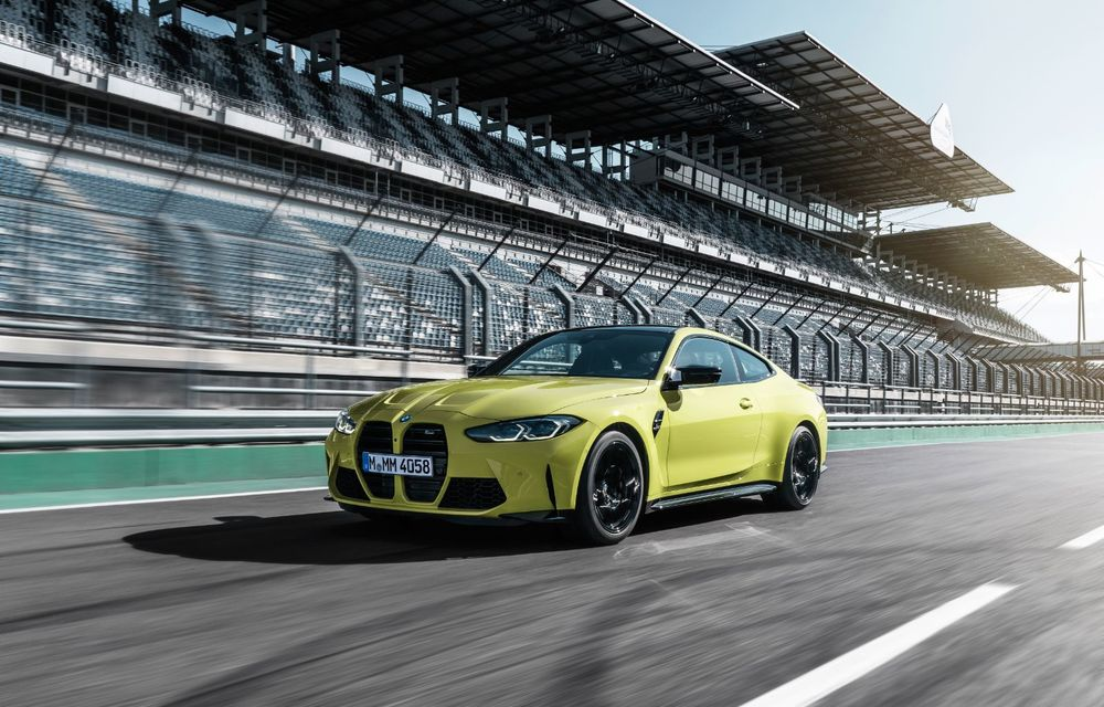 BMW a prezentat noile M3 și M4 Coupe: versiune de bază cu 480 CP și cutie manuală, și variantă Competition cu 510 CP și tracțiune integrală - Poza 60