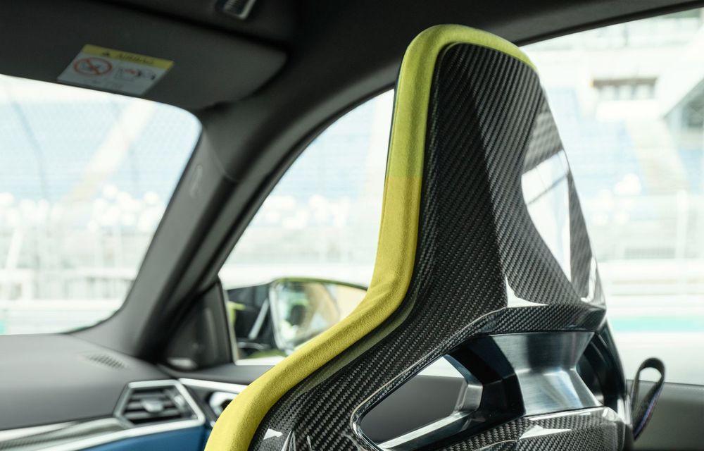 BMW a prezentat noile M3 și M4 Coupe: versiune de bază cu 480 CP și cutie manuală, și variantă Competition cu 510 CP și tracțiune integrală - Poza 93