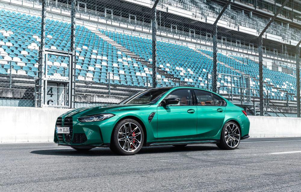 BMW a prezentat noile M3 și M4 Coupe: versiune de bază cu 480 CP și cutie manuală, și variantă Competition cu 510 CP și tracțiune integrală - Poza 139