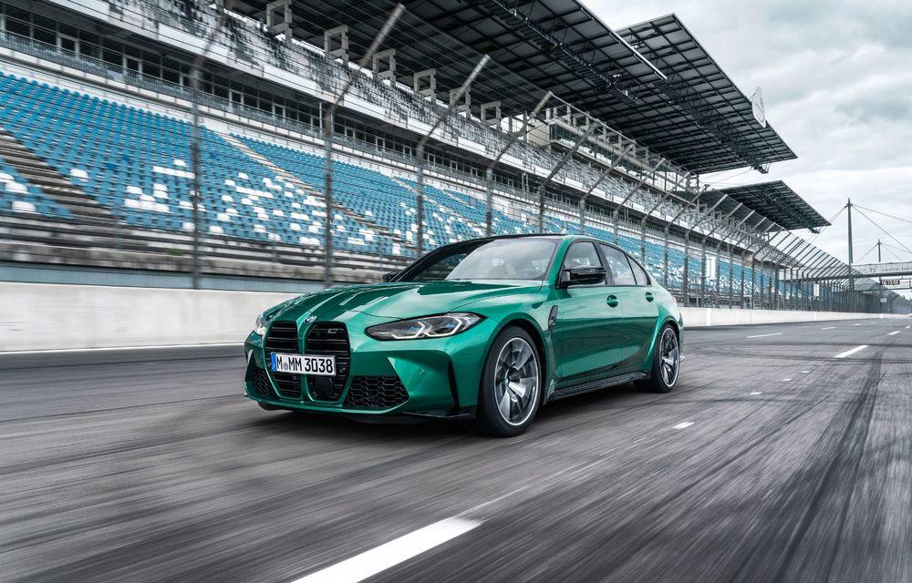 BMW a prezentat noile M3 și M4 Coupe: versiune de bază cu 480 CP și cutie manuală, și variantă Competition cu 510 CP și tracțiune integrală - Poza 117