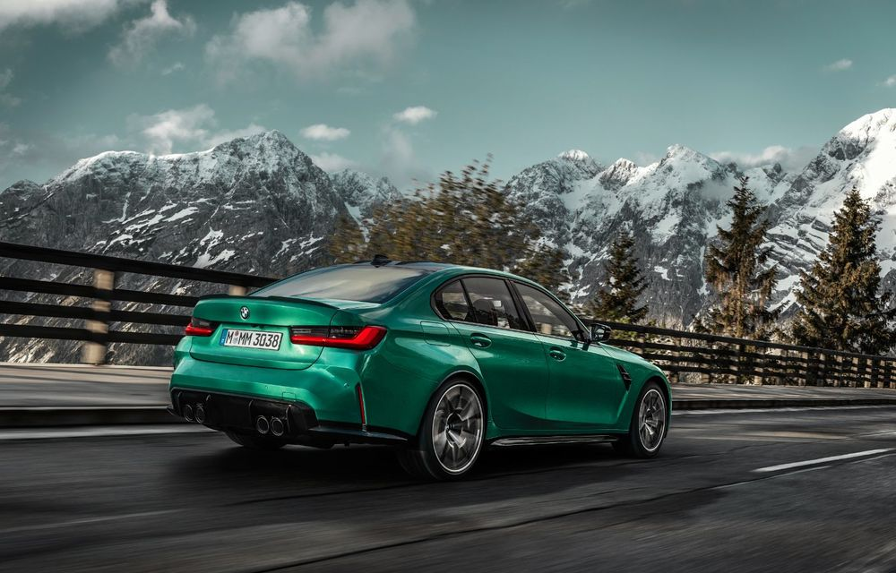 BMW a prezentat noile M3 și M4 Coupe: versiune de bază cu 480 CP și cutie manuală, și variantă Competition cu 510 CP și tracțiune integrală - Poza 15