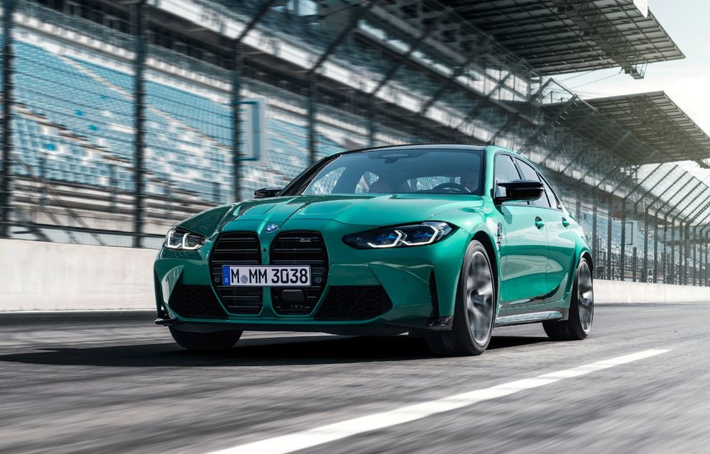BMW a prezentat noile M3 și M4 Coupe: versiune de bază cu 480 CP și cutie manuală, și variantă Competition cu 510 CP și tracțiune integrală - Poza 111