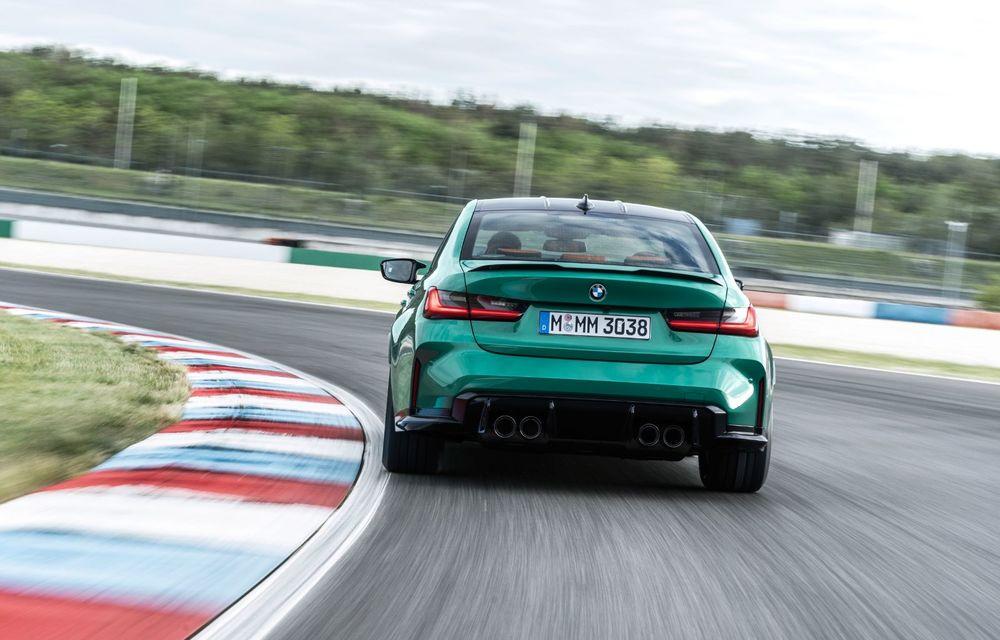 BMW a prezentat noile M3 și M4 Coupe: versiune de bază cu 480 CP și cutie manuală, și variantă Competition cu 510 CP și tracțiune integrală - Poza 122
