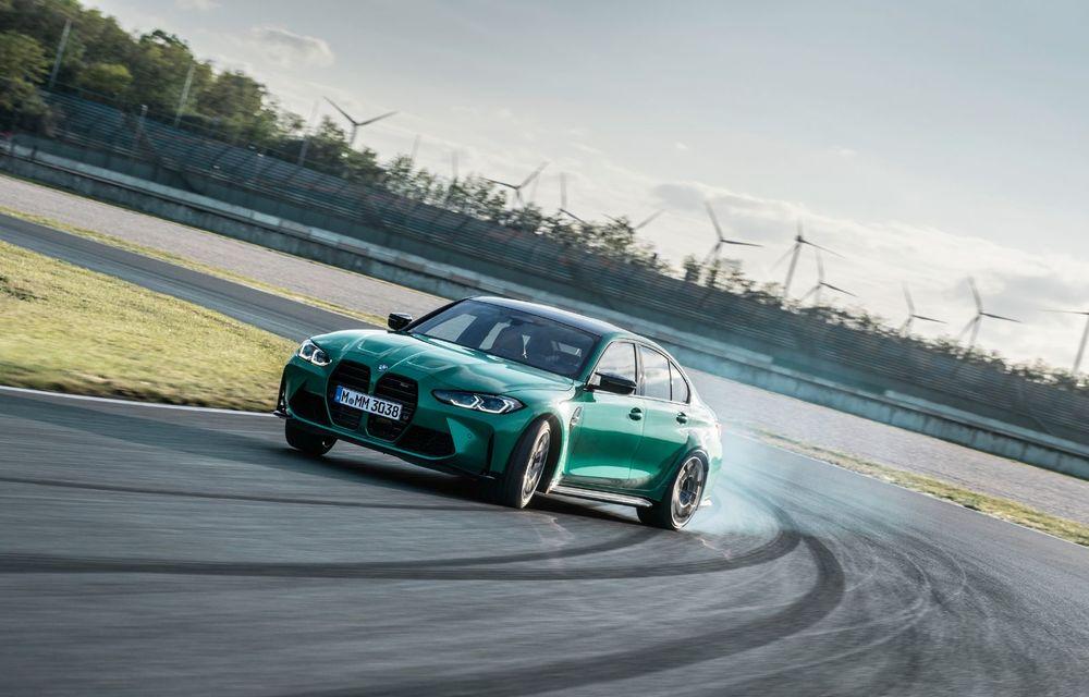 BMW a prezentat noile M3 și M4 Coupe: versiune de bază cu 480 CP și cutie manuală, și variantă Competition cu 510 CP și tracțiune integrală - Poza 132