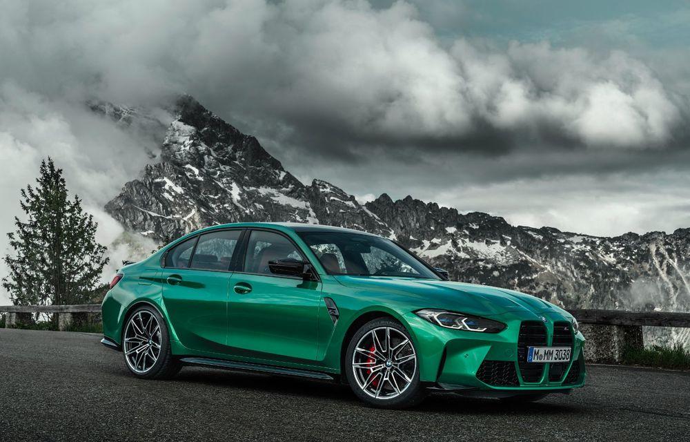 BMW a prezentat noile M3 și M4 Coupe: versiune de bază cu 480 CP și cutie manuală, și variantă Competition cu 510 CP și tracțiune integrală - Poza 19