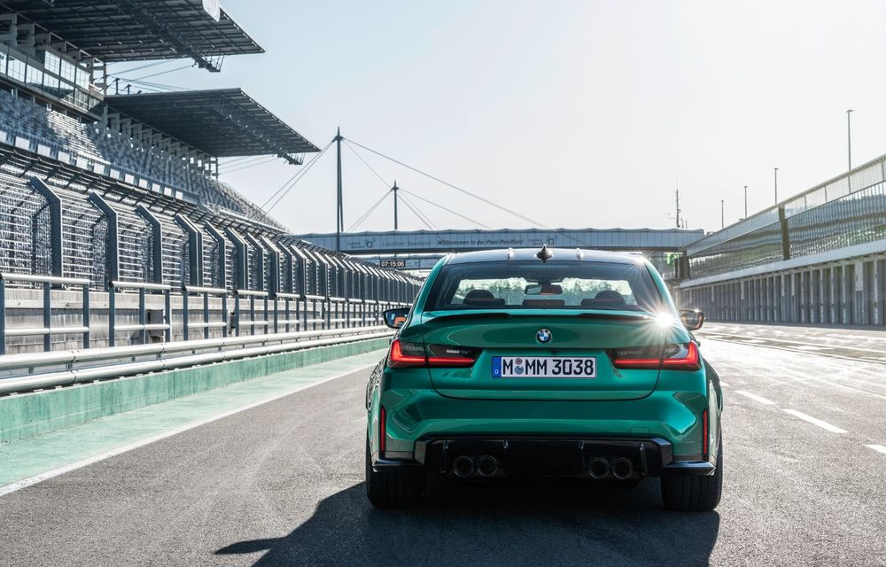 BMW a prezentat noile M3 și M4 Coupe: versiune de bază cu 480 CP și cutie manuală, și variantă Competition cu 510 CP și tracțiune integrală - Poza 142