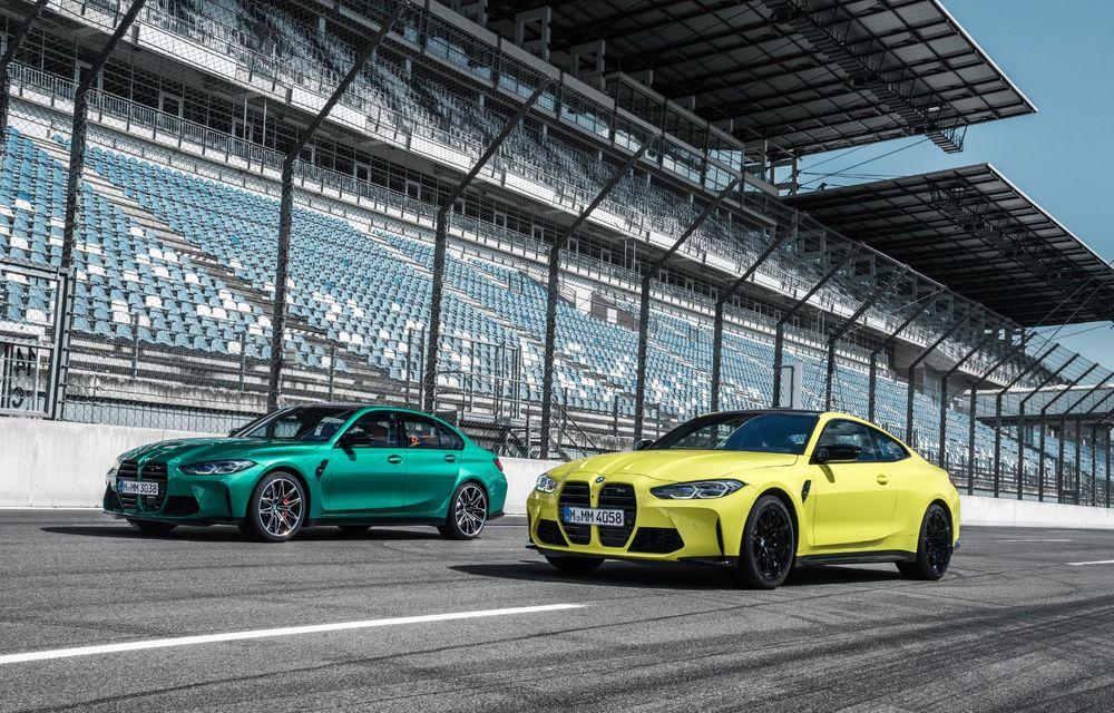 BMW a prezentat noile M3 și M4 Coupe: versiune de bază cu 480 CP și cutie manuală, și variantă Competition cu 510 CP și tracțiune integrală - Poza 105