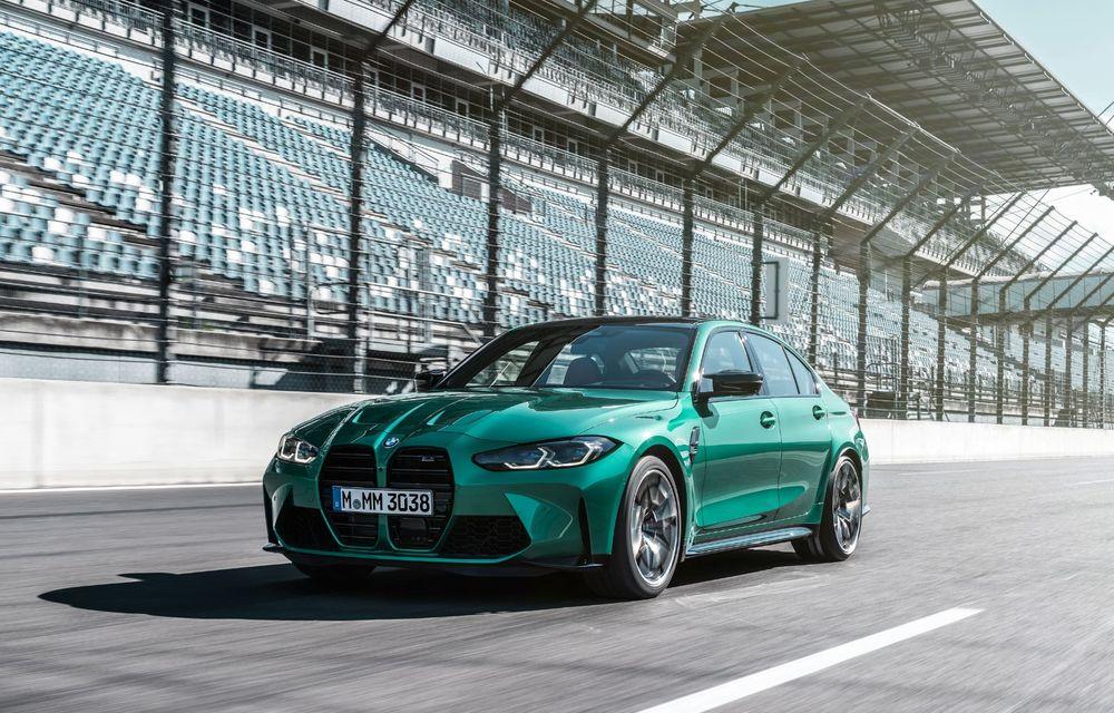 BMW a prezentat noile M3 și M4 Coupe: versiune de bază cu 480 CP și cutie manuală, și variantă Competition cu 510 CP și tracțiune integrală - Poza 97