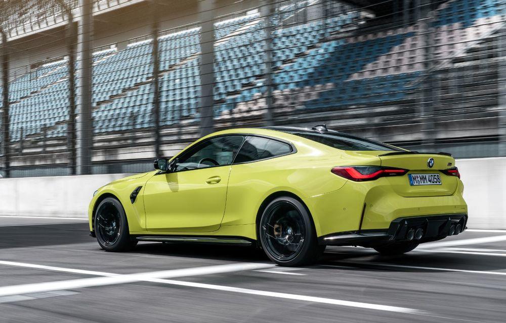 BMW a prezentat noile M3 și M4 Coupe: versiune de bază cu 480 CP și cutie manuală, și variantă Competition cu 510 CP și tracțiune integrală - Poza 67