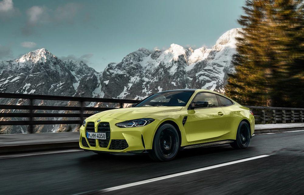 BMW a prezentat noile M3 și M4 Coupe: versiune de bază cu 480 CP și cutie manuală, și variantă Competition cu 510 CP și tracțiune integrală - Poza 31