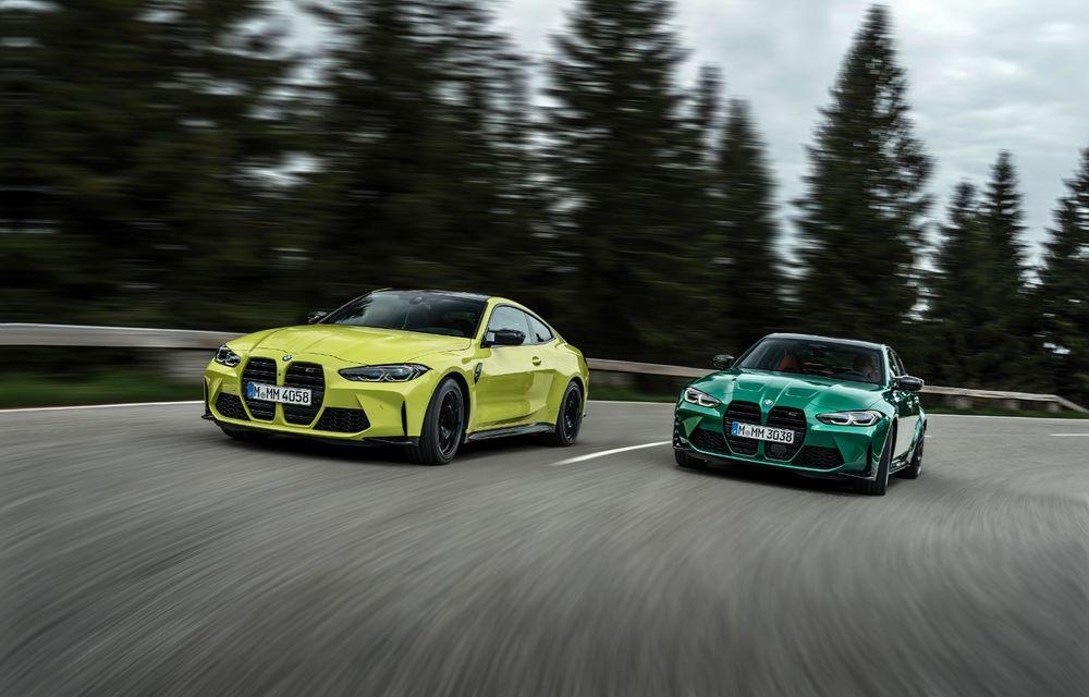 BMW a prezentat noile M3 și M4 Coupe: versiune de bază cu 480 CP și cutie manuală, și variantă Competition cu 510 CP și tracțiune integrală - Poza 2
