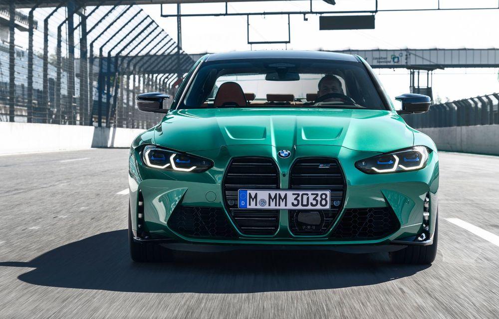 BMW a prezentat noile M3 și M4 Coupe: versiune de bază cu 480 CP și cutie manuală, și variantă Competition cu 510 CP și tracțiune integrală - Poza 113