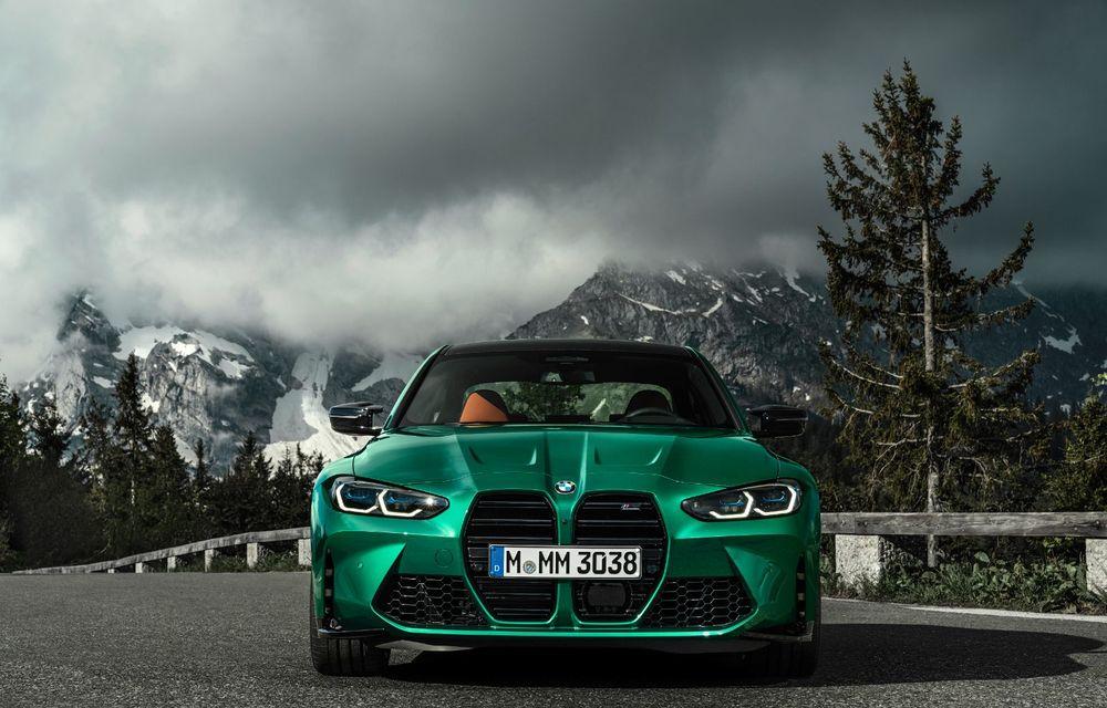 BMW a prezentat noile M3 și M4 Coupe: versiune de bază cu 480 CP și cutie manuală, și variantă Competition cu 510 CP și tracțiune integrală - Poza 25