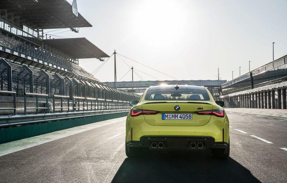BMW a prezentat noile M3 și M4 Coupe: versiune de bază cu 480 CP și cutie manuală, și variantă Competition cu 510 CP și tracțiune integrală - Poza 78