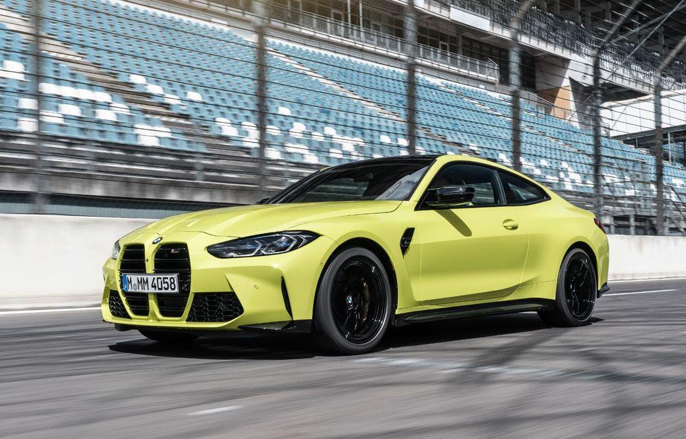 BMW a prezentat noile M3 și M4 Coupe: versiune de bază cu 480 CP și cutie manuală, și variantă Competition cu 510 CP și tracțiune integrală - Poza 54