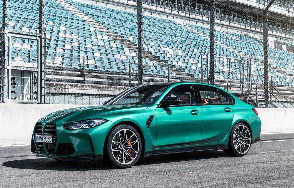 BMW a prezentat noile M3 și M4 Coupe: versiune de bază cu 480 CP și cutie manuală, și variantă Competition cu 510 CP și tracțiune integrală - Poza 140