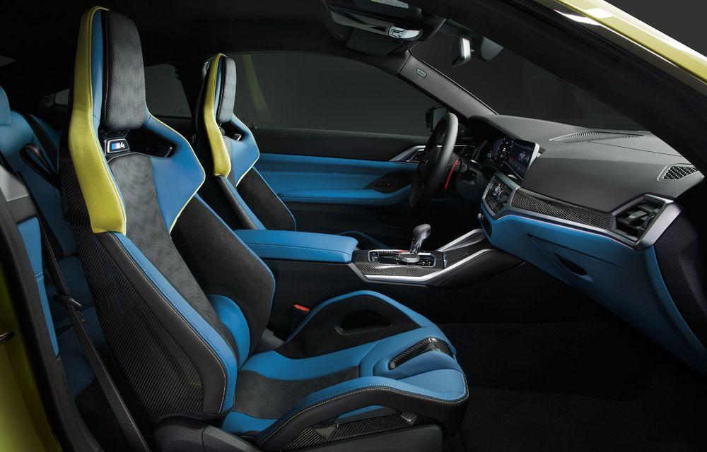BMW a prezentat noile M3 și M4 Coupe: versiune de bază cu 480 CP și cutie manuală, și variantă Competition cu 510 CP și tracțiune integrală - Poza 199