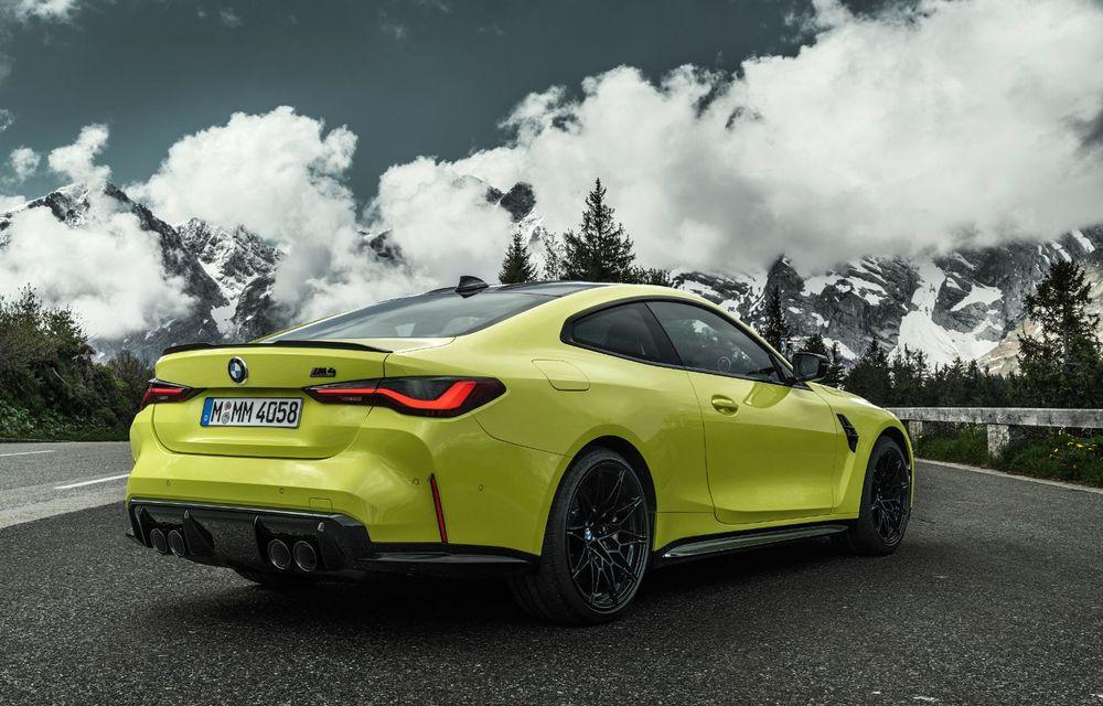 BMW a prezentat noile M3 și M4 Coupe: versiune de bază cu 480 CP și cutie manuală, și variantă Competition cu 510 CP și tracțiune integrală - Poza 42