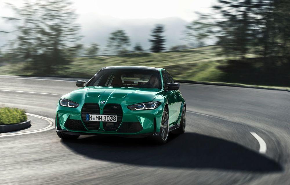 BMW a prezentat noile M3 și M4 Coupe: versiune de bază cu 480 CP și cutie manuală, și variantă Competition cu 510 CP și tracțiune integrală - Poza 11