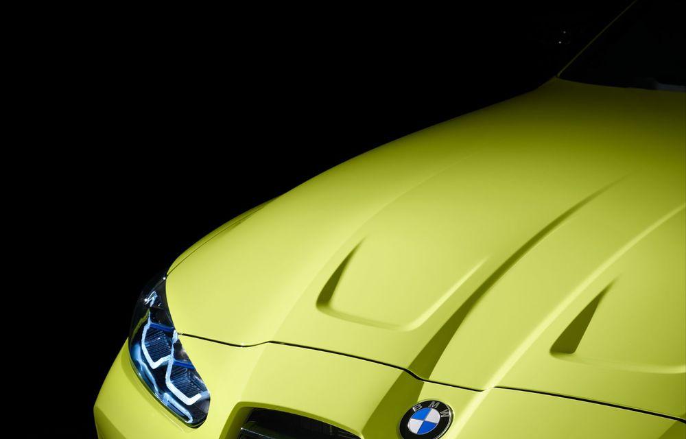 BMW a prezentat noile M3 și M4 Coupe: versiune de bază cu 480 CP și cutie manuală, și variantă Competition cu 510 CP și tracțiune integrală - Poza 186