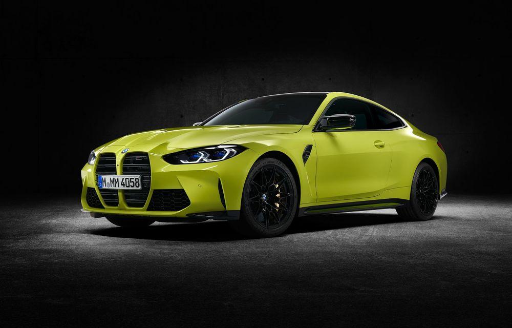BMW a prezentat noile M3 și M4 Coupe: versiune de bază cu 480 CP și cutie manuală, și variantă Competition cu 510 CP și tracțiune integrală - Poza 180