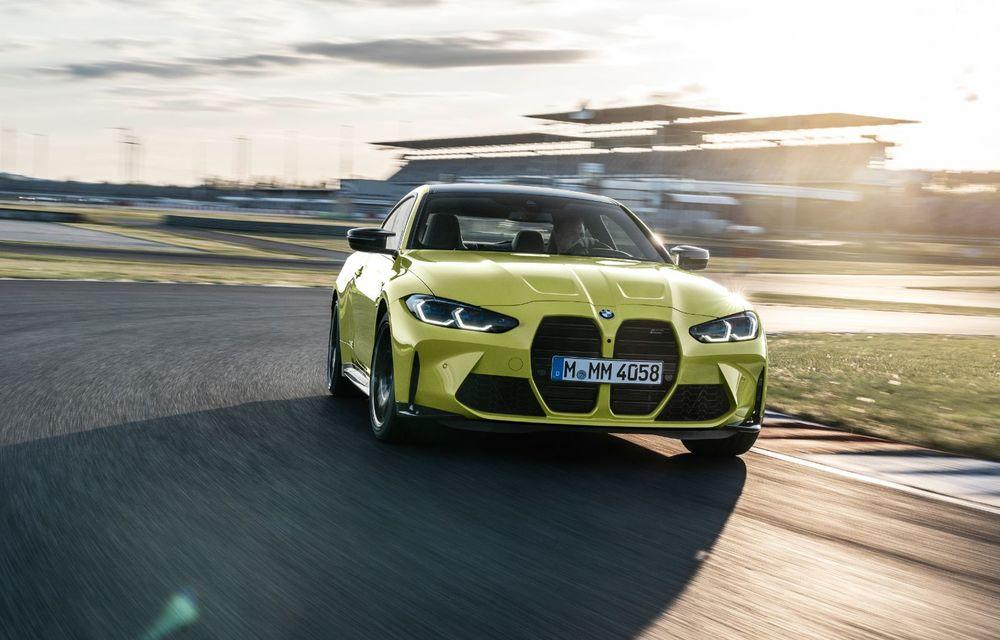 BMW a prezentat noile M3 și M4 Coupe: versiune de bază cu 480 CP și cutie manuală, și variantă Competition cu 510 CP și tracțiune integrală - Poza 53