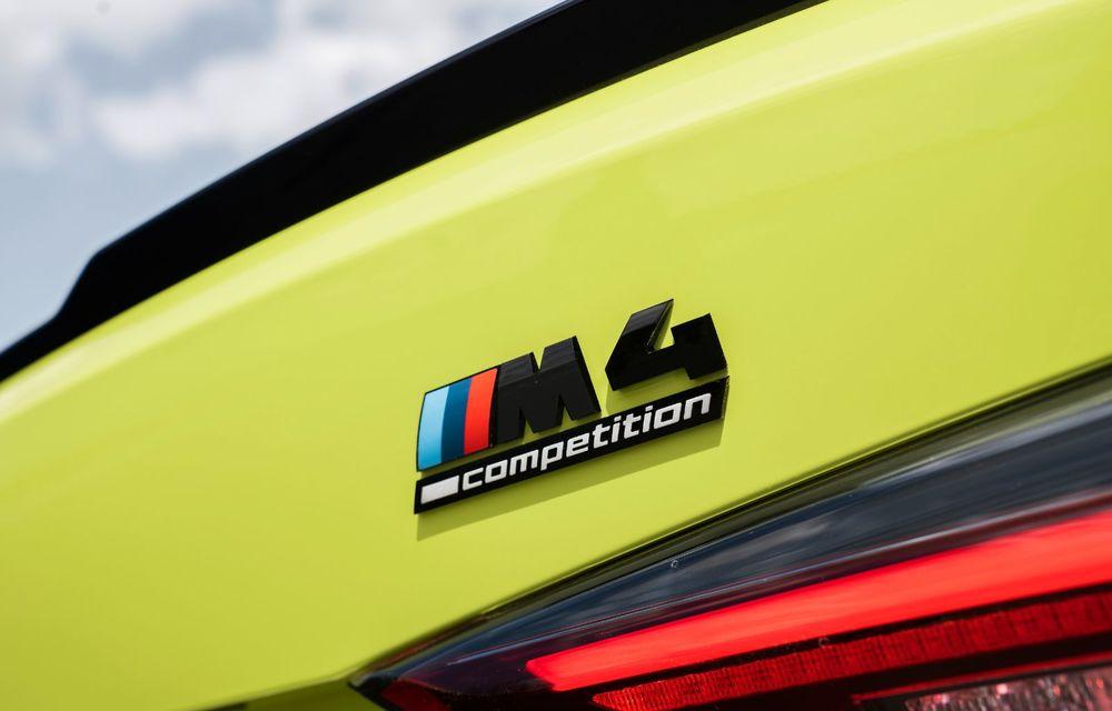BMW a prezentat noile M3 și M4 Coupe: versiune de bază cu 480 CP și cutie manuală, și variantă Competition cu 510 CP și tracțiune integrală - Poza 88