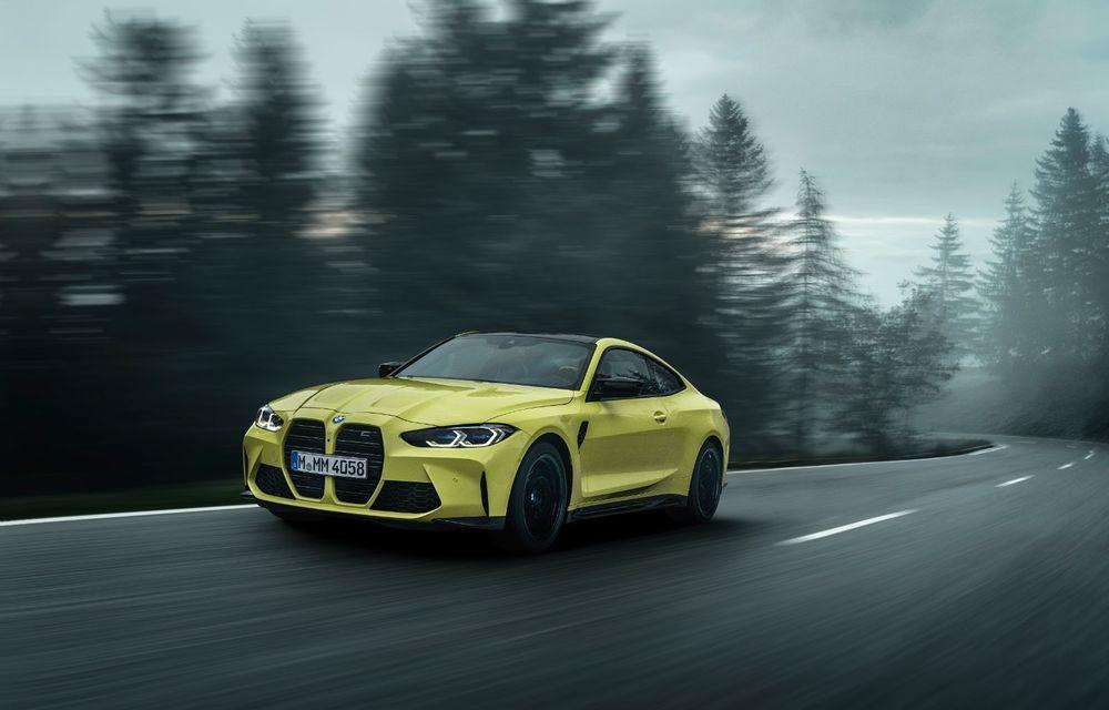 BMW a prezentat noile M3 și M4 Coupe: versiune de bază cu 480 CP și cutie manuală, și variantă Competition cu 510 CP și tracțiune integrală - Poza 33